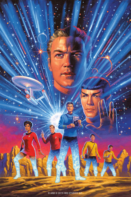 Star Trek: Year Five cover art