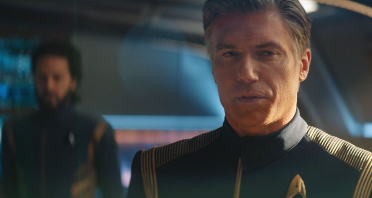 Anson Mount as Christopher Pike