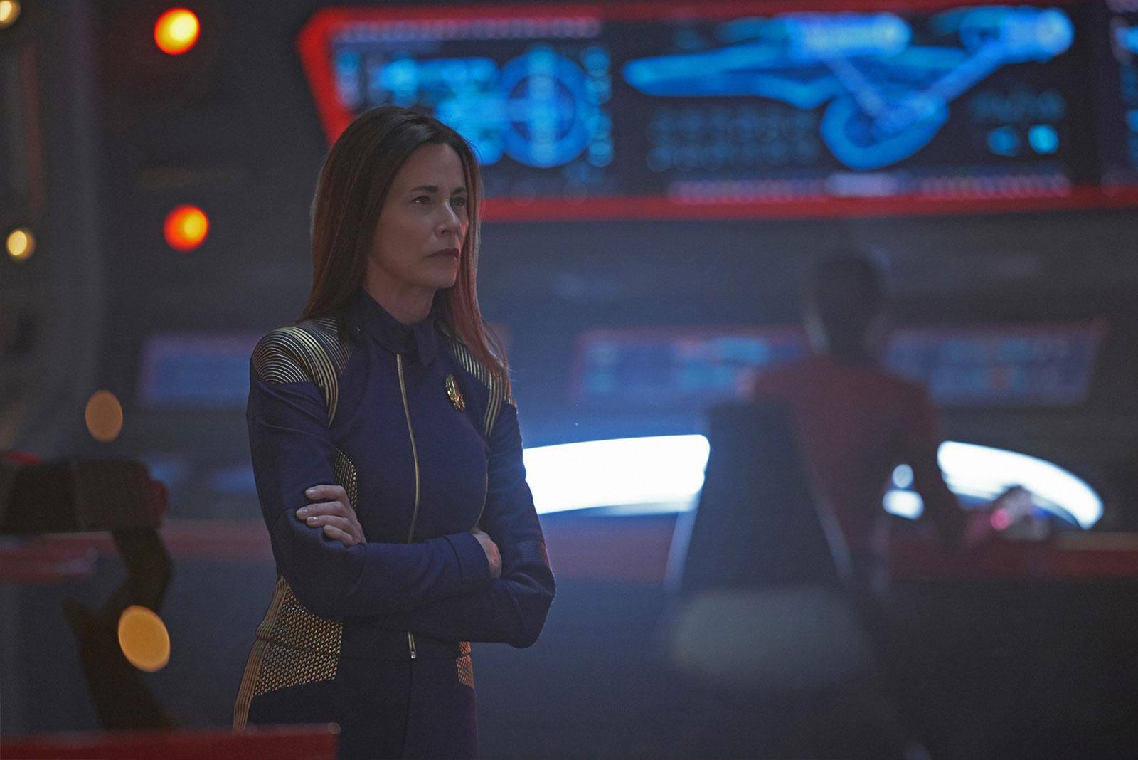 Jayne Brook as Admiral Cornwell