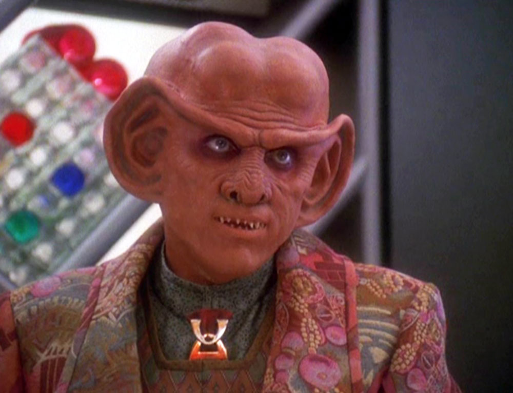 Shimerman as Quark on DS9