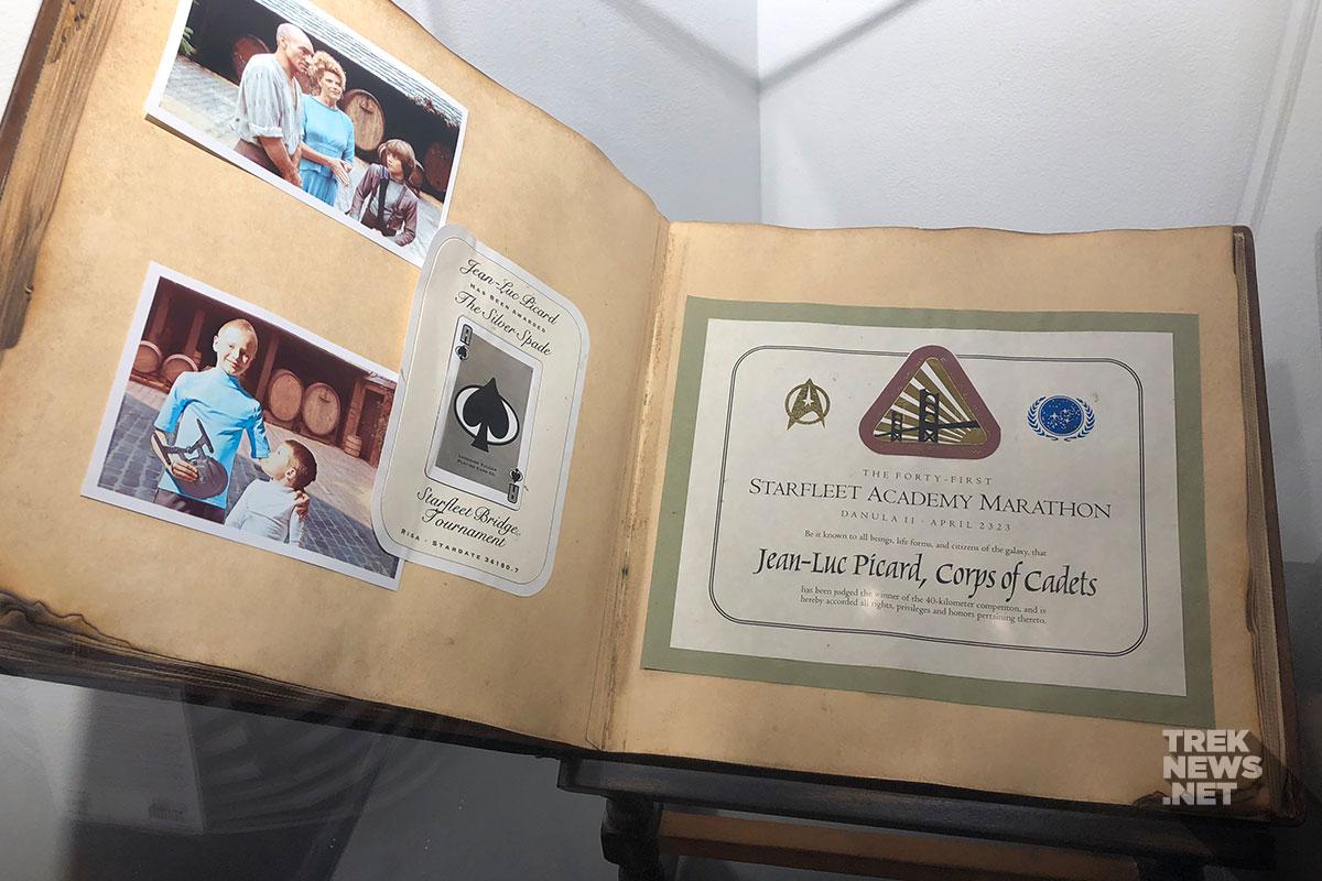 Picard family photo album