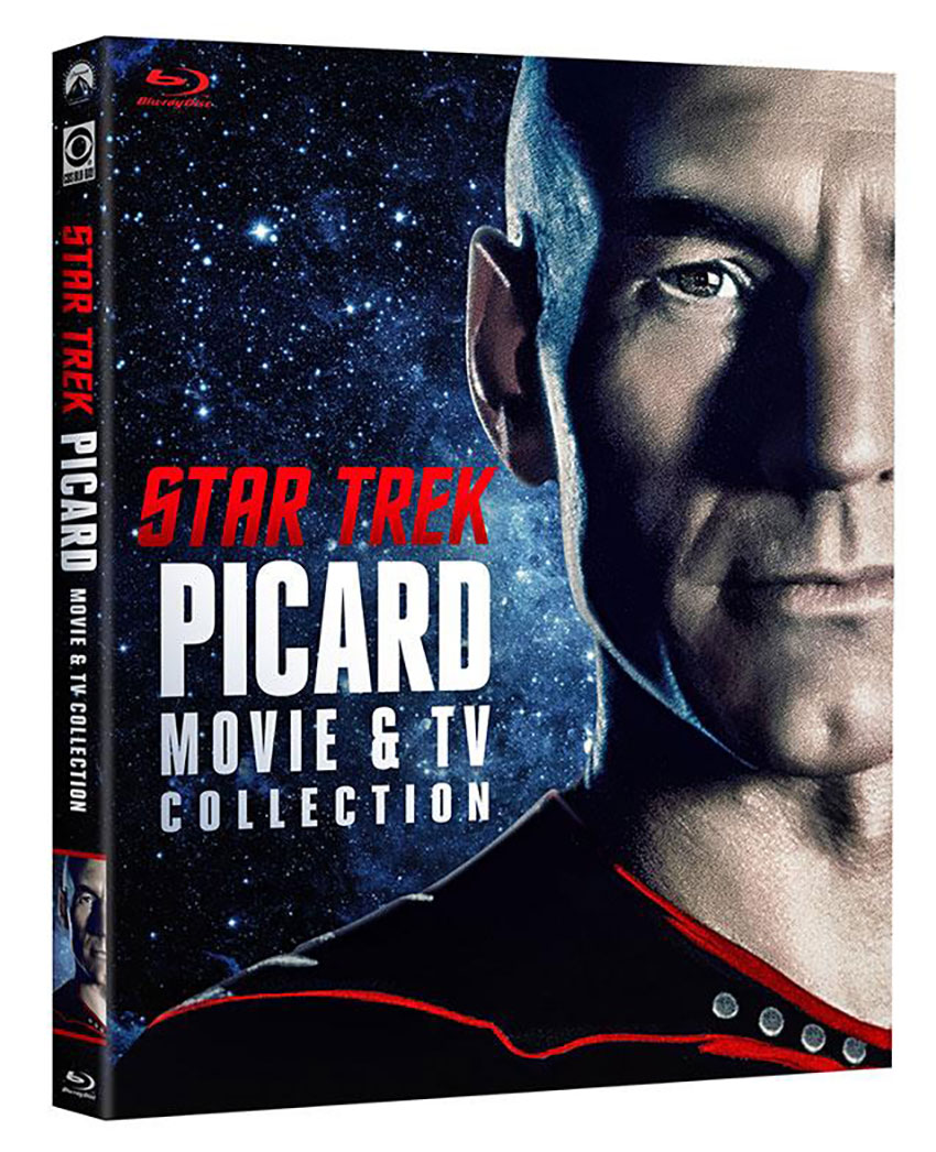 Star Trek Picard Movie & TV Collection Blu-ray cover art