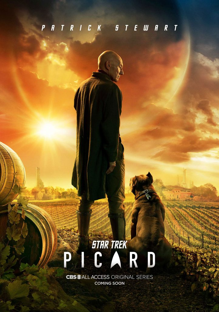 Star Trek: Picard key art