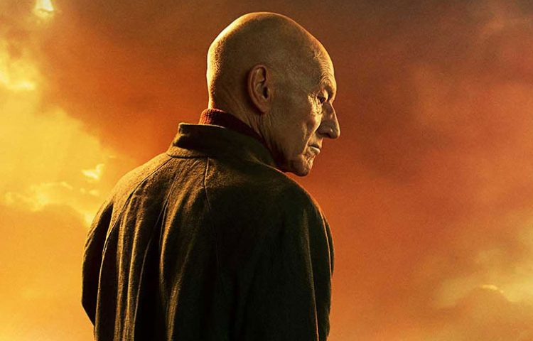 'Star Trek Picard' Poster: Picard and His Pup Look to the Future
