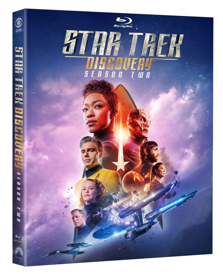 Star Trek: Discovery Season 2 Blu-ray cover art