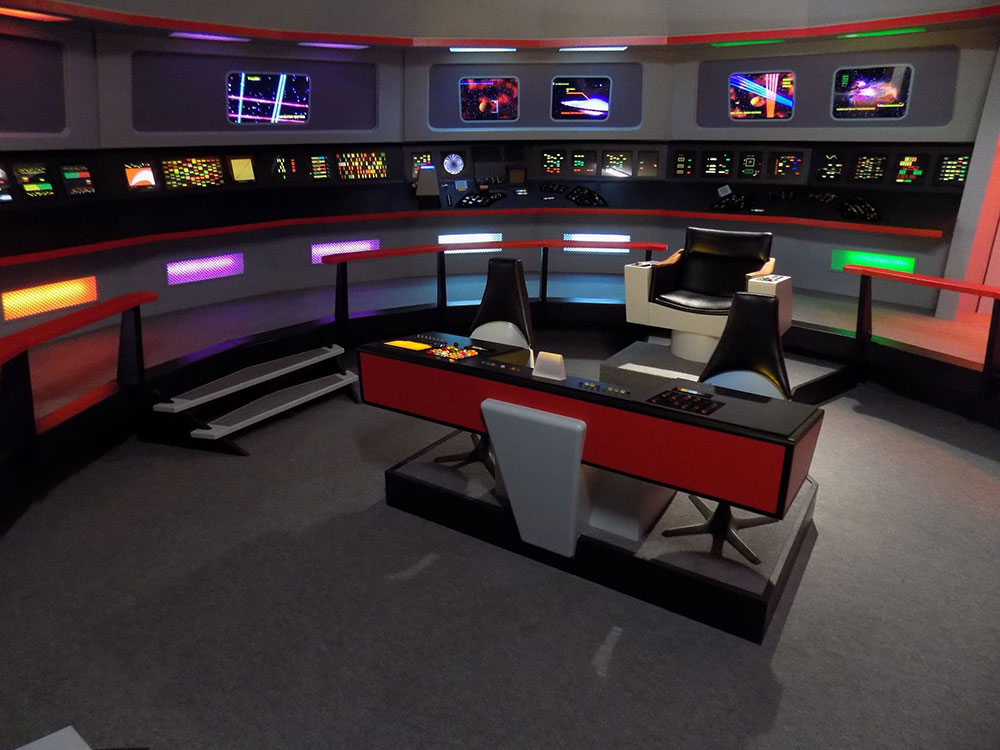 The bridge set within the Original Series Set Tour
