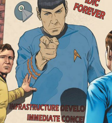 [REVIEW] Spock Has Presidential Aspirations in 'Star Trek: Year Five' Issue 4