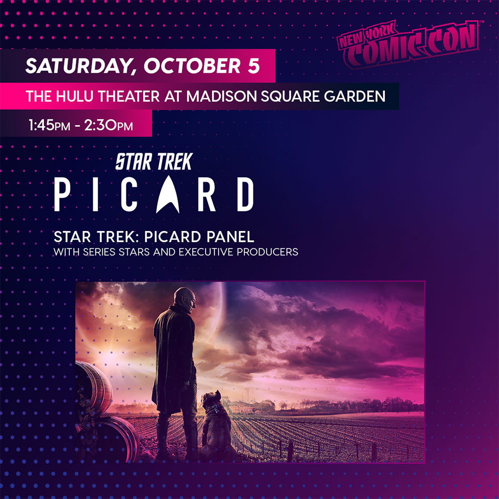 Star Trek: Picard at NYCC 2019