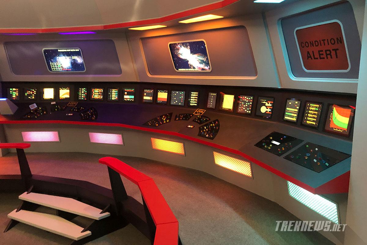 The bridge of the Enterprise