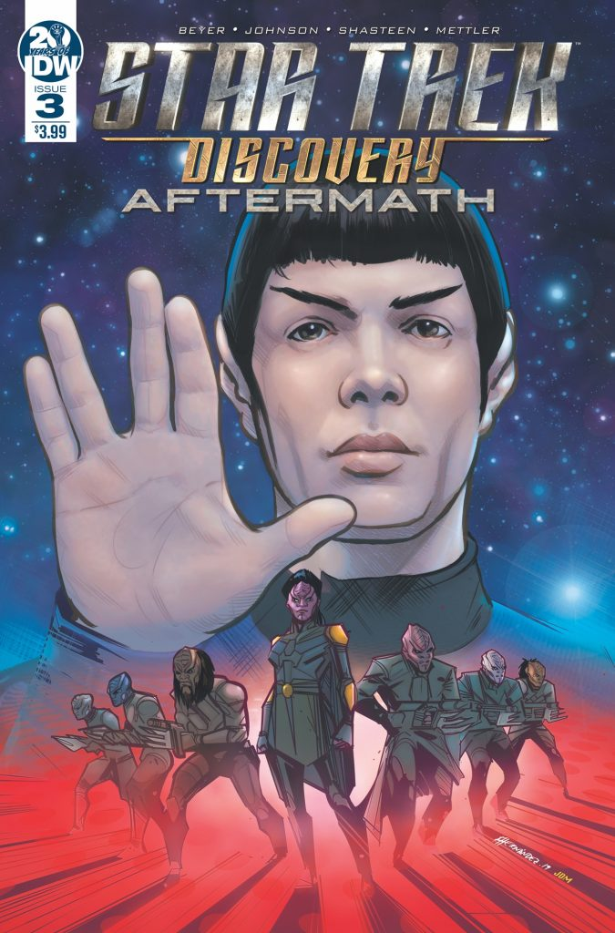 Star Trek: Discovery Aftermath 3 cover by Angel Hernandez