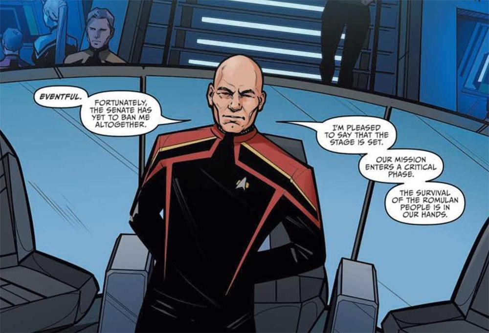 Art from Star Trek: Picard - Countdown #1