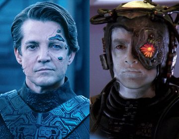 Here's Our Best Look Yet at Hugh's New Look in Star Trek: Picard