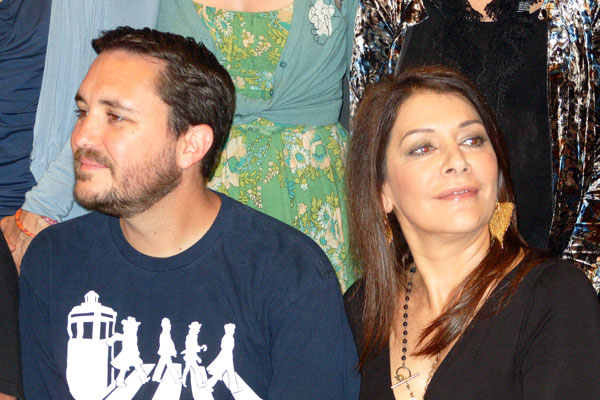 Wil Wheaton & Marina Sirtis