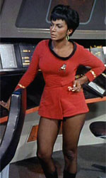 Uhura's skirt