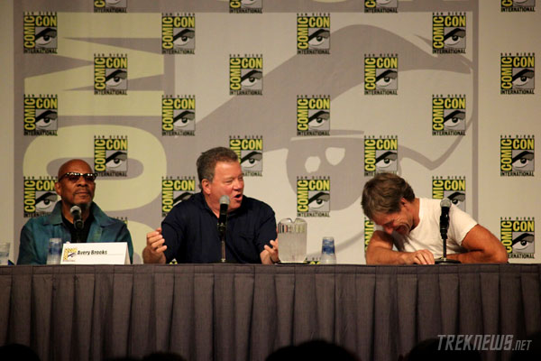 The Captains: Brooks, Shatner & Bakula