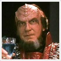David Warner as Chancellor Gorkon