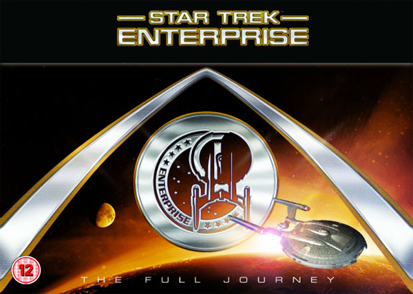 Star Trek: Enterprise UK box art