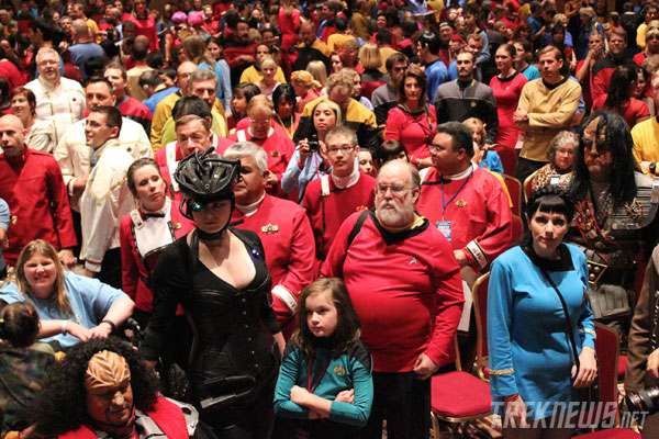 Star Trek Guinness World Record attempt
