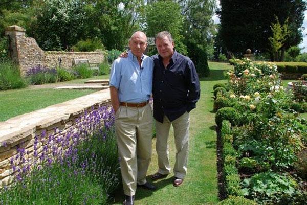 Sir Patrick Stewart and William Shatner