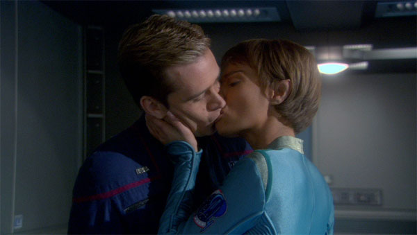 Trip Tucker & T'Pol on Enterprise