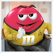 M&M's Star Trek Figure