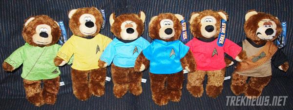 Star Trek Teddy Bears