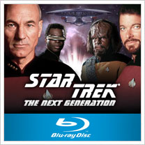 Star Trek: The Next Generation on Blu-Ray