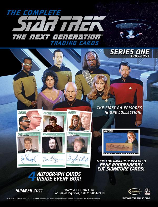 Star Trek: The Next Generation cards