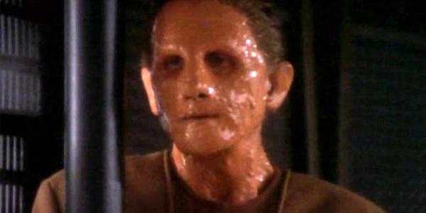 Odo unable to hold his shape