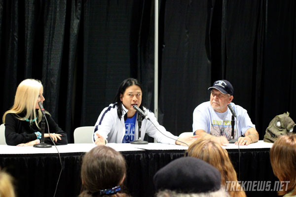 Comikaze Star Trek Panel