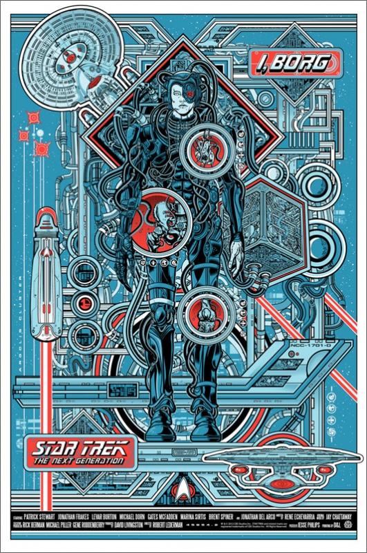 I, Borg Poster