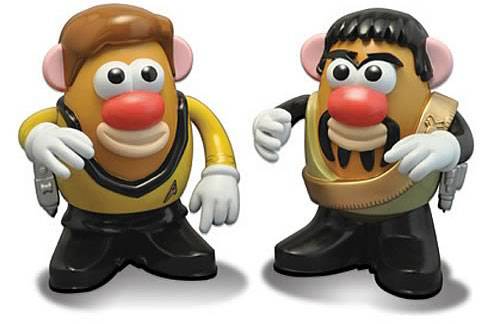 Kirk & Kor Potato Heads
