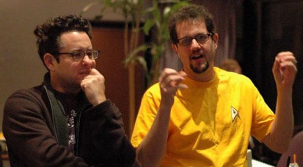 Michael Giacchino and JJ Abrams