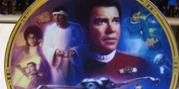 Star Trek IV Plate from Hamilton Collectibles
