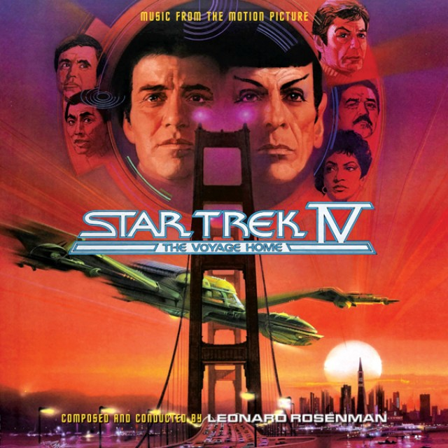 Star Trek IV The Complete Score Cover Art