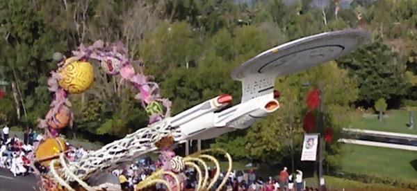 USS Enterprise Parade