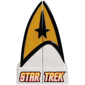 Star Trek Salt & Pepper Shakers