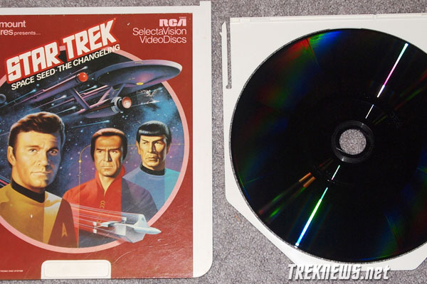 Star Trek CED Cover & Disc