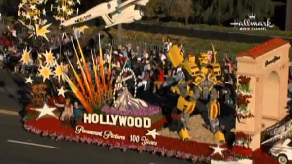 Paramount Rose Parade Float