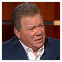 William Shatner on The Colbert Report