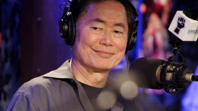 "George Takei on the ""Howard Stern Show"""