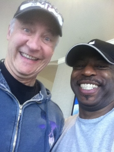 Brent Spiner and LeVar Burton at the Calgary Expo