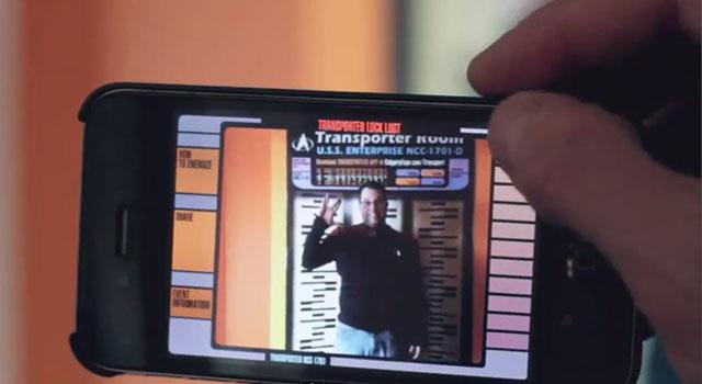 Star Trek Transporter App