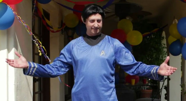 """WATCH: Brent Spiner as a Shakespearean Spock in a New Episode of """"Fresh Hell"""""""