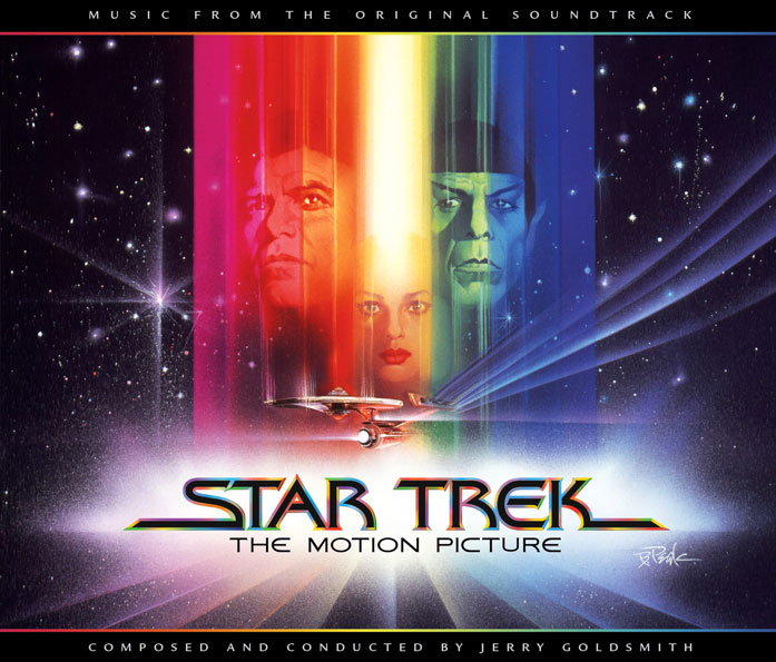 Cover art for Star Trek: The Motion Picture - The Complete Score