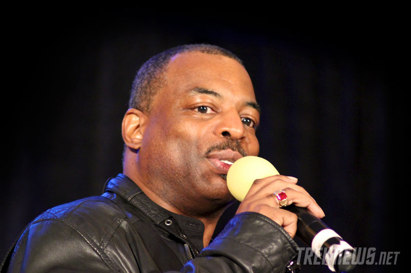 LeVar Burton talks TNG and the all-new Reading Rainbow
