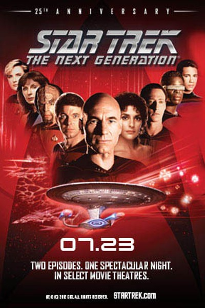 Star Trek: TNG 25th Anniversary Poster