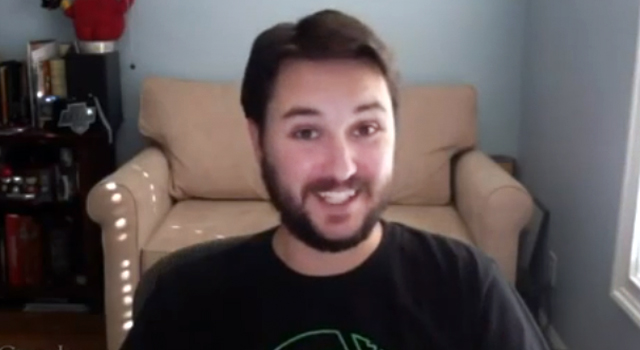 "WATCH: Wil Wheaton Read ""Where No One Has Gone Before"""