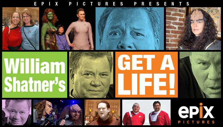 "William Shatner's ""Get A Life"" on EPIX"