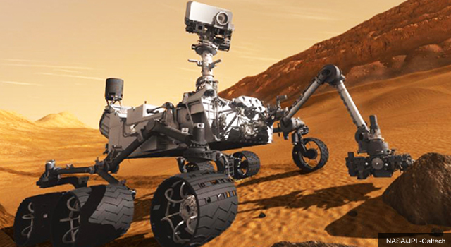 "NASA's ""Curiosity"" Rover Lands on Mars Tonight"